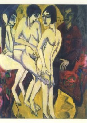 Ernst Ludwig Kirchner. Urteil des Paris, 1912/13