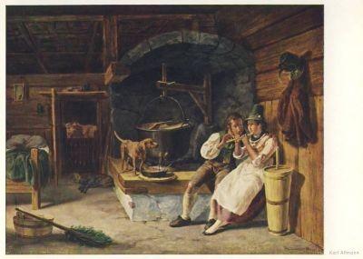 Altmann, K. Almbesuch, Altmann