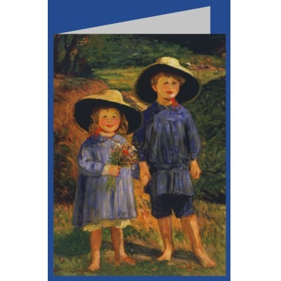 Rothenstein, Sir William. Kinder im Wald