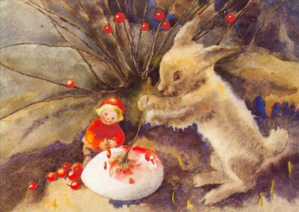 Mili Weber. Ostern steht vor der Tür