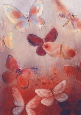 Loes Botman. Schmetterling Flügelschlag