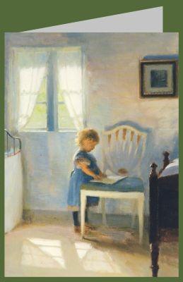 Peter Vilhelm Ilsted. Sonnenlicht im Kinderzimmer