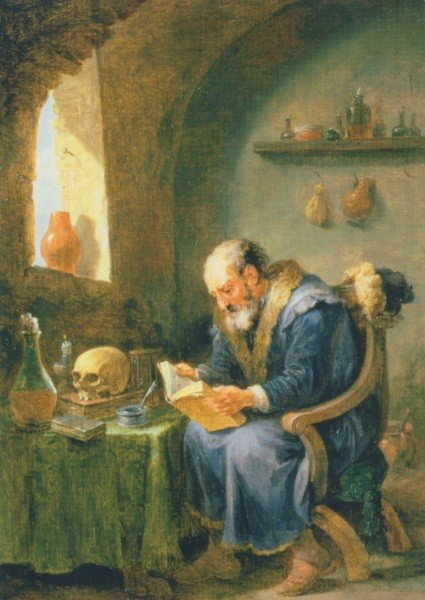David Teniers, der Jüngere. Der Alchimist
