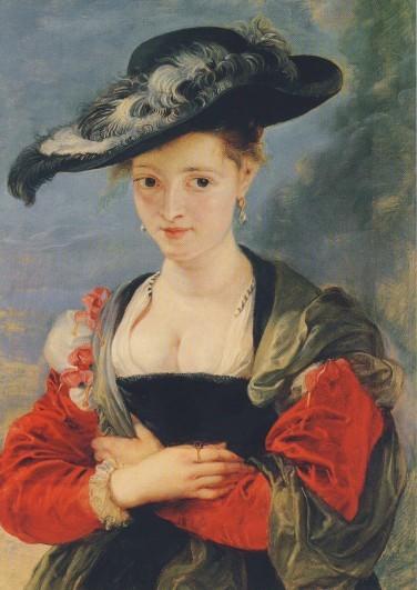Rubens. Der Strohhut, um 1620/25