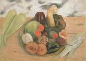 Frida Kahlo. Die Früchte der Erde, 1938
