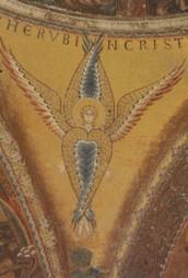Seraphim, Mosaik, 1220-1300. KK