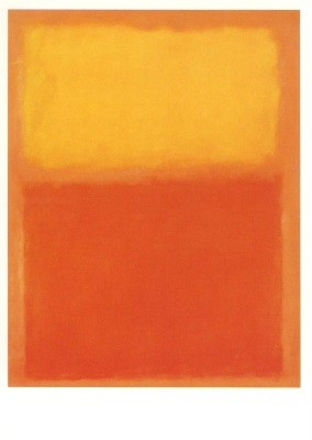 Rothko, M. Orange und Gelb, 1956. KK