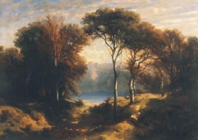 Alexandre Calame. Herbst, 1851