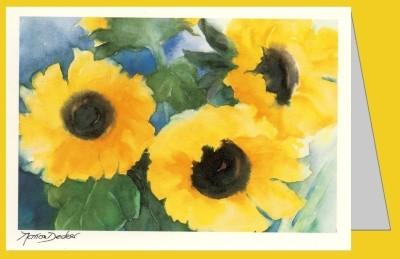 Decker, Marion. Sonnenblumen. MC
