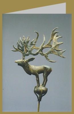 Skythisch. Aufsatz in Form eines Hirsches, 5./4. Jh. v. Chr.