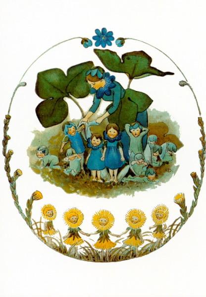Elsa Beskow. Blumenfamilie