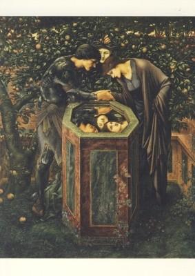 Edward Burne-Jones. Das Schreckenshaupt, 1885-1887