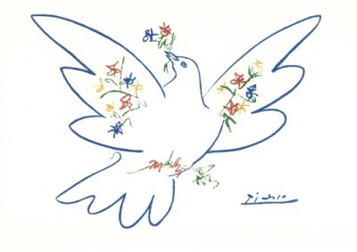 Picasso, P. Friedenstaube. KK