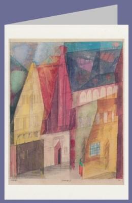 Lyonel Feininger. Lüneburg II, 1933