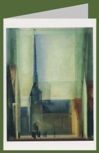 Lyonel Feininger. Gelmeroda, 1926. DK