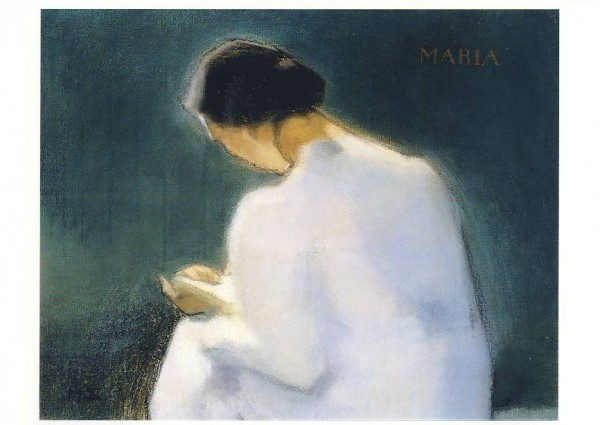 Helene Schjerfbeck. Maria, 1909. KK