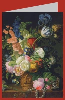 Prevost, Jean-Louis. Stillleben mit Blumen