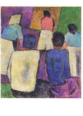 Roesch, Carl. Komposition III, 1965. KK