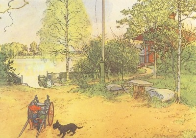 Der Hof in Falun, Larsson