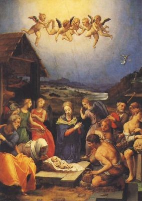 Bronzino, A. Die Anbetung der Hirten. KK