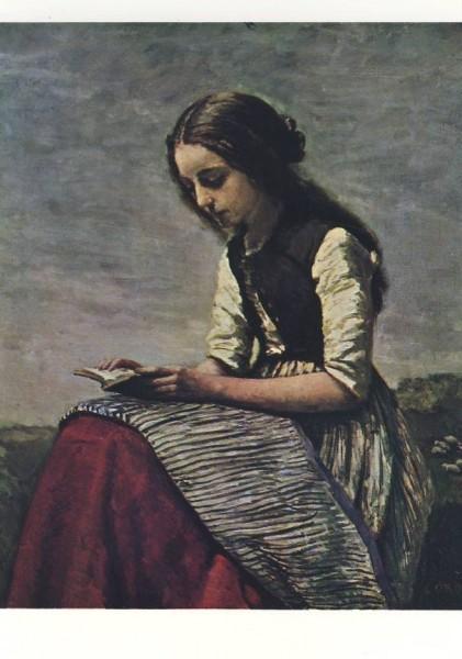 Camille Corot. Die kleine Leserin