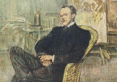 Henri de Toulouse-Lautrec. Portrait des Paul Leciecq, 1897