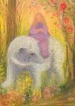 Koconda, A. Die Prinzessin reitet auf dem Bären. KK