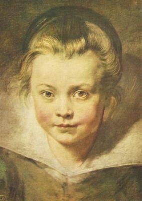 Peter-Paul Rubens. Kinderkopf. KK