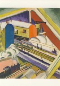 Ernst Ludwig Kirchner. Wannseebahn ..., 1914/26