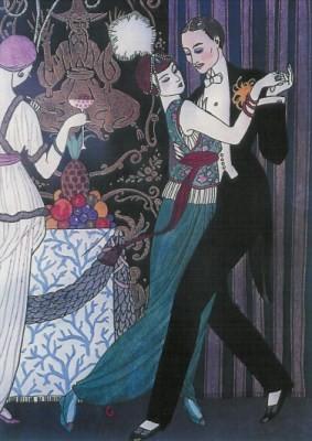 Barbier, Georg. Der Tanz, 1914. KK