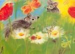 Dorothea Schmidt. Mäuse-Blumen. KK