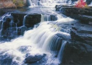 Wu, Gang. Wasserfall. Foto-KK