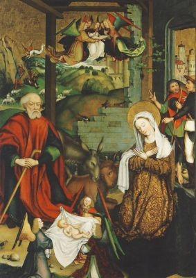 Zeitblom, B. Christi Geburt, 1496. KK