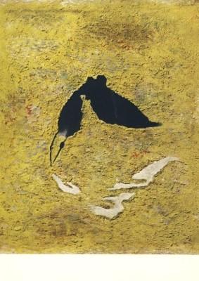 Willi Baumeister. Taucher mit Spiegelung (1953)