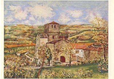 Utrillo, M. Die Kirche von St. Mamert. KK