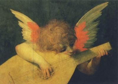 Rosso Fiorentino. Musizierender Engel. KK