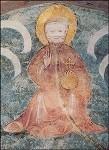 Kirche St. Peter. Darstellung d.dreieinigen Gottes, 1400. KK