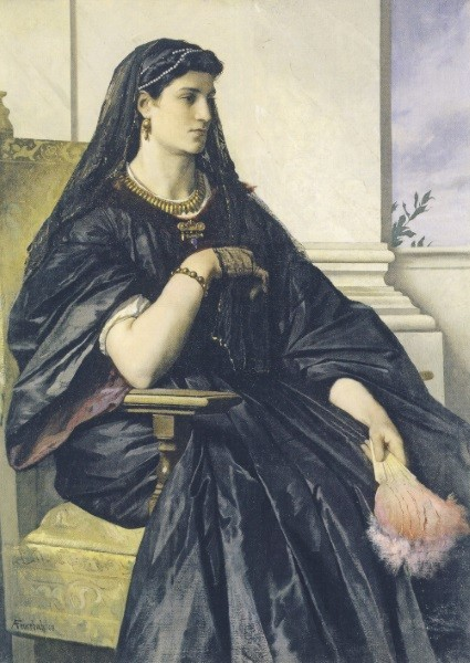 Anselm Feuerbach. Bianca Capello, 1864/68
