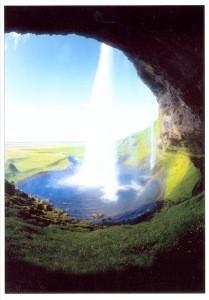 Zimmert, Gerhard. Wasserfall. KK