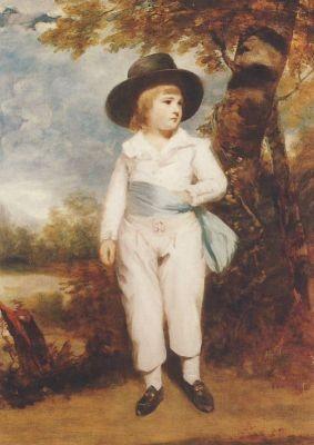 Reynolds, J. Junge mit schwarzem Hut. KK