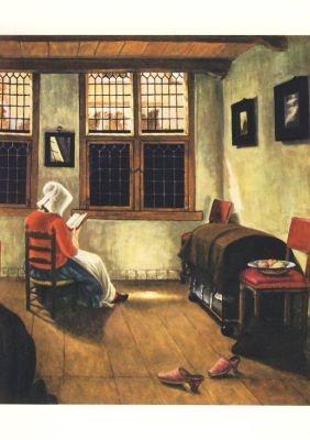 Pieter Janssens. Die lesende Frau