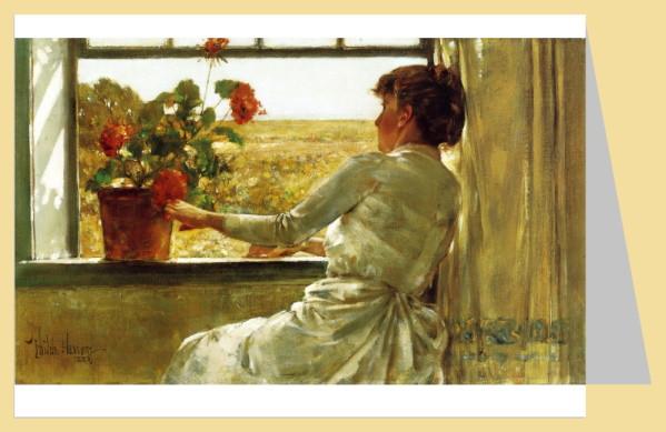 Childe Frederick Hassam. Sommerabend, 1886