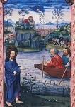 Salzburger Missale, 3.Band. Jesus am See. 1478-1489. KK