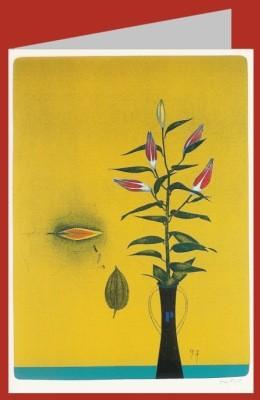 Wunderlich, Paul. Lilienblüten, 1997. DK