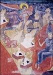 Byzantinisch. Jüngstes Gericht, Ausschnitt. Rumänisch. KK