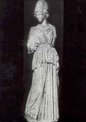 Griechisch. Athena nach Myron, 5. Jh. v. Chr. KK