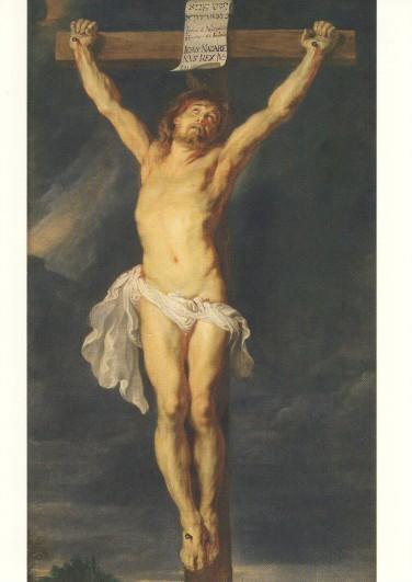 Peter-Paul Rubens. Christus am Kreuz, um 1612. KK