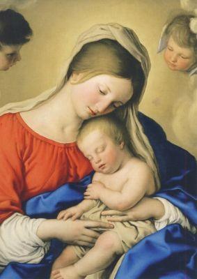 Sassoferrato. Das schlafende Christuskind
