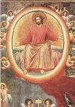 Giotto di Bondone. Aus dem Jüngsten Gericht, Ausschnitt. KK