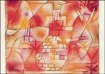 Klee, P. Plan einer Gartenarchitektur, 1920. KK